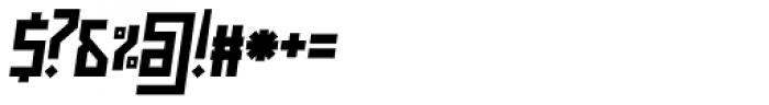 Muzarela Semiexpanded Bold Italic Font OTHER CHARS