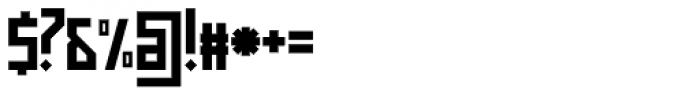 Muzarela Semiexpanded Bold Font OTHER CHARS
