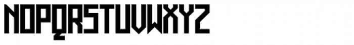 Muzarela Semiexpanded Bold Font UPPERCASE
