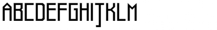 Muzarela Semiexpanded Regular Font UPPERCASE