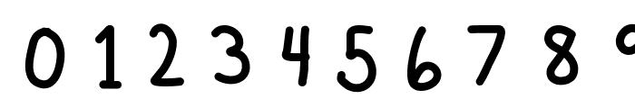 MVUHandwriting Font OTHER CHARS