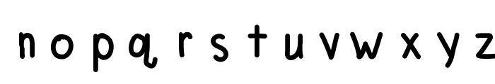 MVUHandwriting Font LOWERCASE