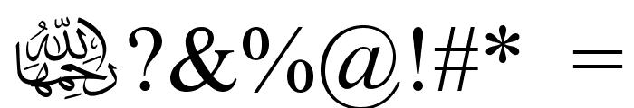 Mv Jadheedh Font OTHER CHARS