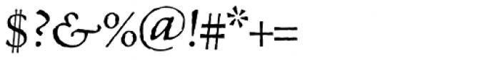 MVB Celestia Antiqua Italic Font OTHER CHARS