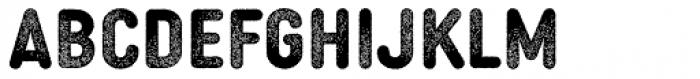MVB Diazo Condensed Rough 1 Bold Font LOWERCASE