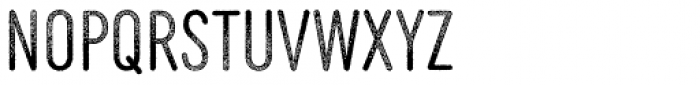 MVB Diazo Extra Condensed Rough 1 Light Font LOWERCASE