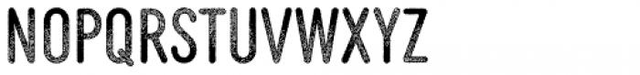 MVB Diazo Extra Condensed Rough 1 Font UPPERCASE