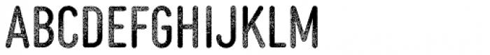 MVB Diazo Extra Condensed Rough 1 Font LOWERCASE