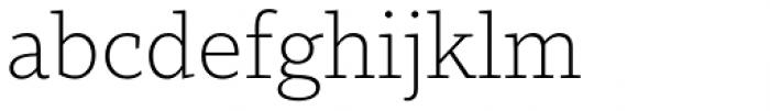 MVB Dovetail Extra Light Font LOWERCASE