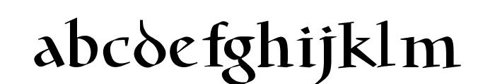 MWaKomia Font LOWERCASE