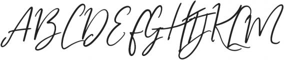 My Beloved Alternates otf (400) Font UPPERCASE