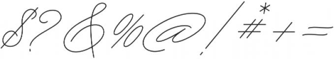 My Dear otf (400) Font OTHER CHARS