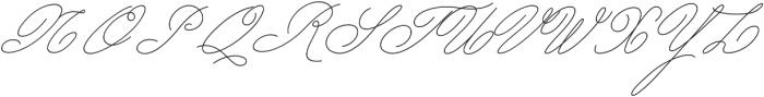 My Dear otf (400) Font UPPERCASE
