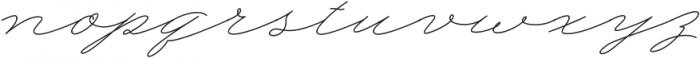 My Dear otf (400) Font LOWERCASE