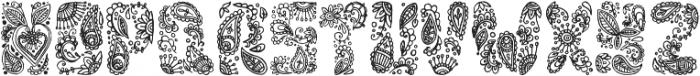 My India ttf (400) Font LOWERCASE