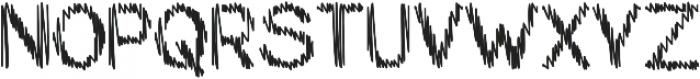 My Pencil Alt 2 otf (400) Font UPPERCASE