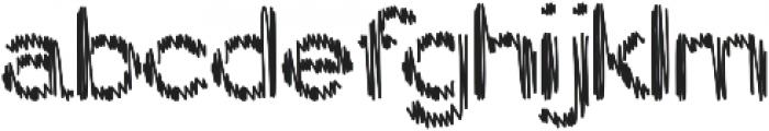 My Pencil Alt 2 otf (400) Font LOWERCASE