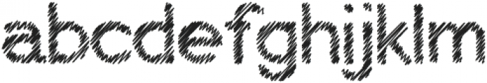 My Pencil otf (400) Font LOWERCASE