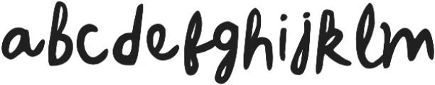My Recipes otf (400) Font LOWERCASE