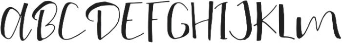 My Way ttf (400) Font UPPERCASE