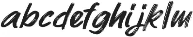 Mybread Banana otf (400) Font LOWERCASE
