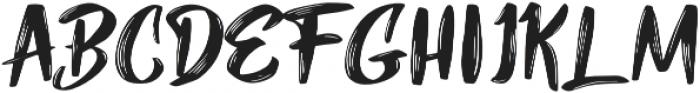 Mybread otf (400) Font UPPERCASE
