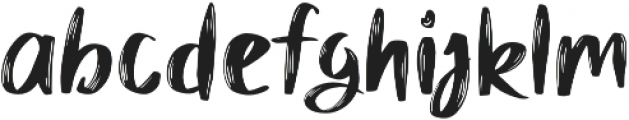 Mybread otf (400) Font LOWERCASE
