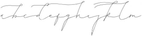 MystApah otf (400) Font LOWERCASE