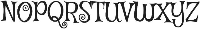 Mystery Quest Pro otf (400) Font UPPERCASE
