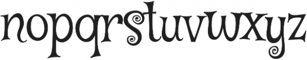 Mystery Quest Pro otf (400) Font LOWERCASE