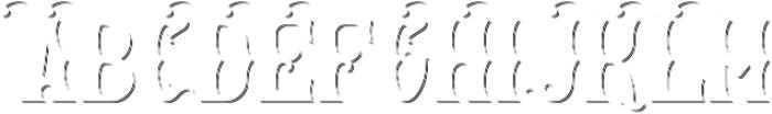 MysticLabel ShadowFX otf (400) Font UPPERCASE