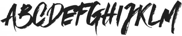 Mystique otf (400) Font LOWERCASE