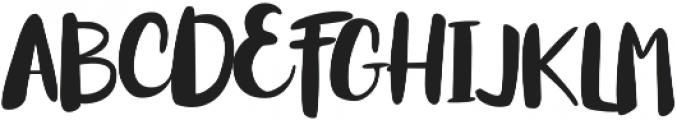 Mythbuster otf (400) Font UPPERCASE