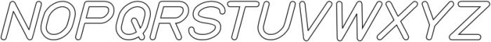 my font-Hollow otf (400) Font UPPERCASE