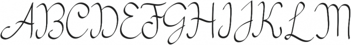 my mecca script otf (400) Font UPPERCASE