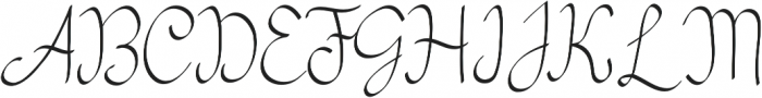 my mecca script script calligraphy otf (400) Font UPPERCASE