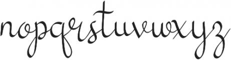 my mecca script script calligraphy otf (400) Font LOWERCASE