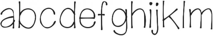 mywanderingheart ttf (400) Font LOWERCASE