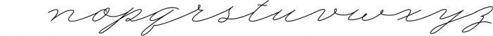 My Dear Script Font LOWERCASE