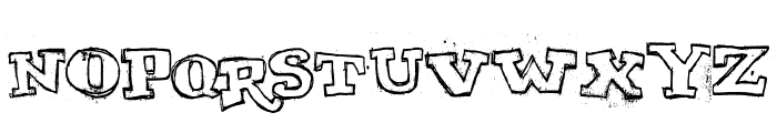 MY TURTLE Font LOWERCASE