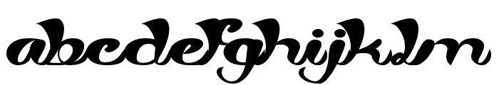 My Angle Font LOWERCASE