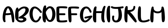 My Best Shot Regular Font UPPERCASE