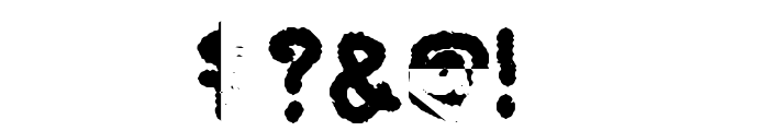 My Brushwriting Font OTHER CHARS