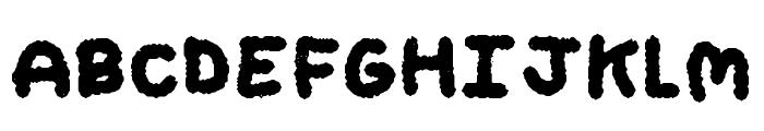 My Brushwriting Font UPPERCASE