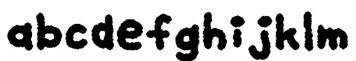 My Brushwriting Font LOWERCASE