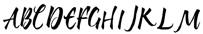 My Nerd Font UPPERCASE