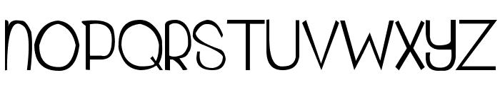 My Organization Font UPPERCASE