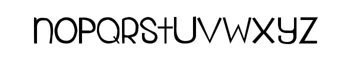 My Organization Font LOWERCASE