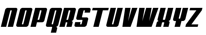 My Puma Oblique Font UPPERCASE