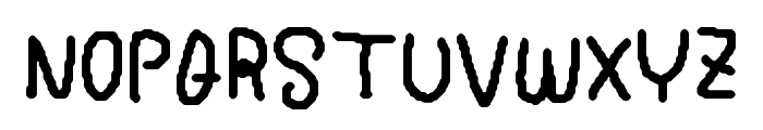 My Simplewriting Font UPPERCASE